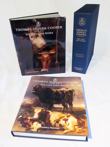 Thomas Sidney Cooper, His Life and Work - Book Covers
